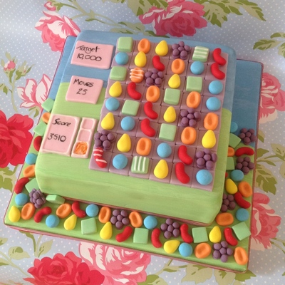 Candy Crush Cake
