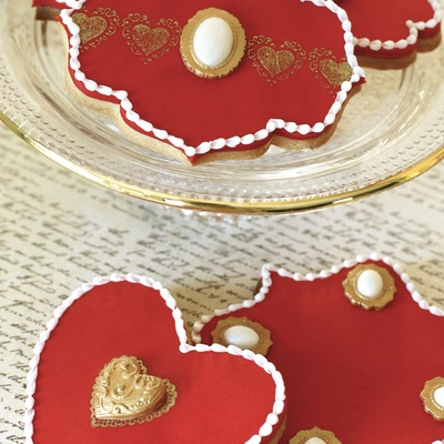 Cookies Fit For The Queen Of Hearts