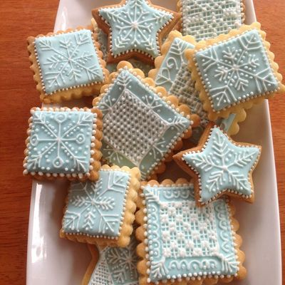 These Christmas Cookies Were Inspired By Snowflakes