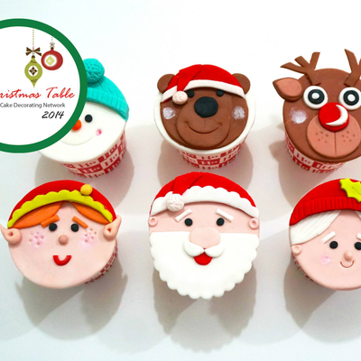 Storytale Cakes Christmas Cupcake Tutorial on Cake Central