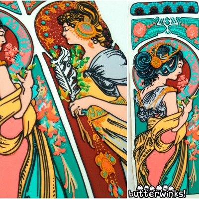 Alphonse Mucha Cookie