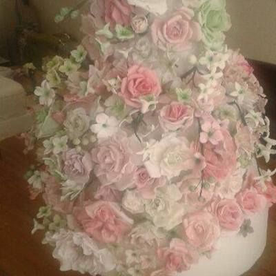 My Daughters Wedding Cake Thanks To All The Talented People On Cc The Bride And Groom Loved It X