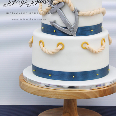 nautical wedding cake stand top sailboat cakes cakecentral 17735