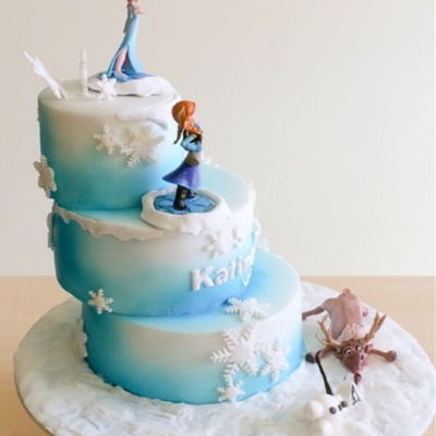 Frozen The Elsa And Ana Figurines Are Bought All Else Edible