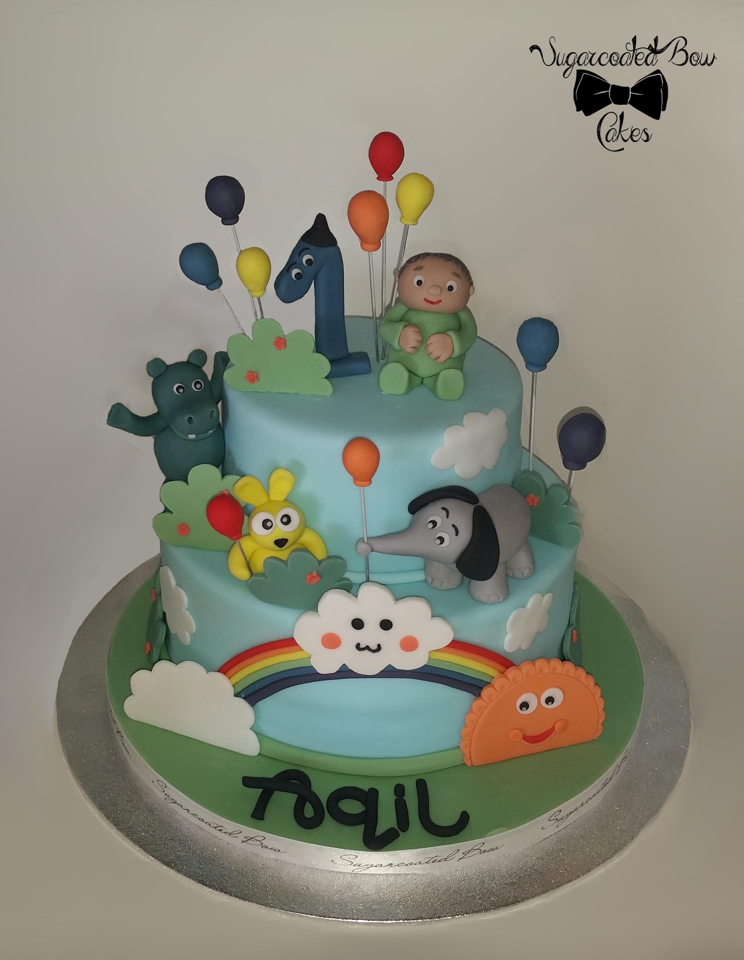 Animal Cake Decorating Photos