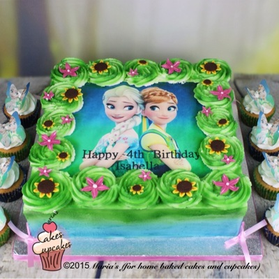 Anna Cake Decorating Photos