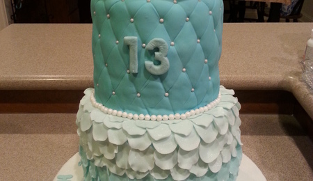 Official Teenager 13th Birthday Cake Cakecentral Com
