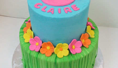Enjoyable Luau Cake Decorating Photos Funny Birthday Cards Online Elaedamsfinfo