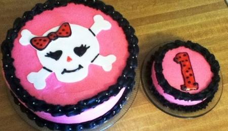 Monster High Skull Cake Pan