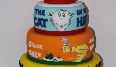 Green Eggs And Ham Cake - CakeCentral.com