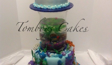 Fish Tank Birthday Cake Recipe