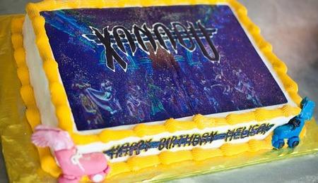 Xanadu Cake Design : Gymnastics Cake - CakeCentral.com