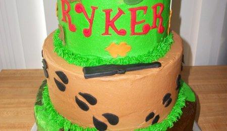 Deer Hunting Birthday Cake CakeCentralcom