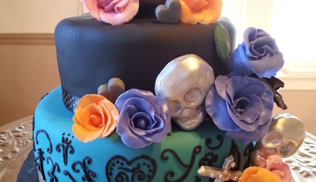 Covering Skull Cake Recipe White Chocolate