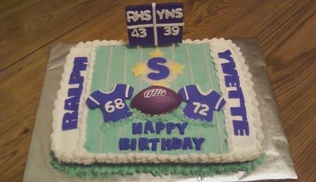 Boston Celtics Kids Birthday Cake CakeCentralcom