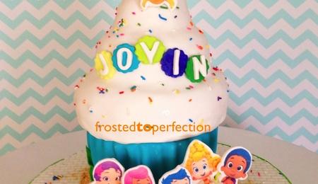 Pleasant Bubble Guppies Cake Decorating Photos Funny Birthday Cards Online Hetedamsfinfo