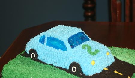 Daisy Birthday Sheet Cake Cakecentral Com