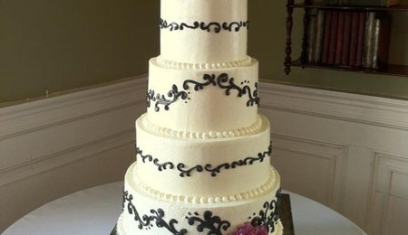 wedding cake tricks st quot s day wedding cake cakecentral 26722