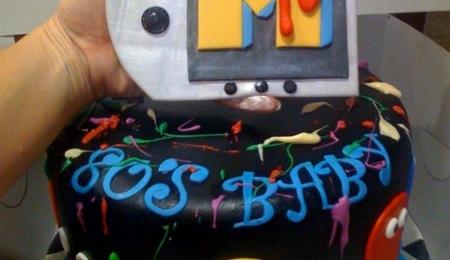 80s Theme Bday Cake