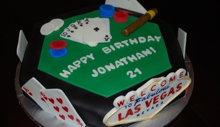 High Stakes Poker - CakeCentral.com