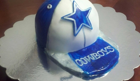 Rudolph and hermie snowglobe for Dallas cowboys fishing hat