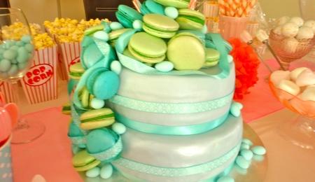 Macarons Cake Decorating Photos