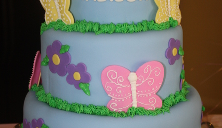 Cover Styrofoam With Satin For Dummy Cake