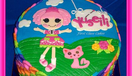 Lalaloopsy Jewels Sparkles Cake
