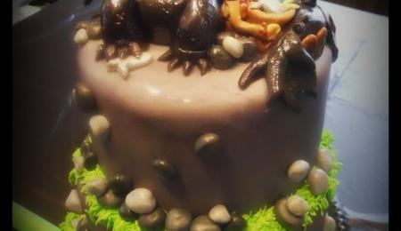 Groundhog Wedding Cake Cakecentral Com