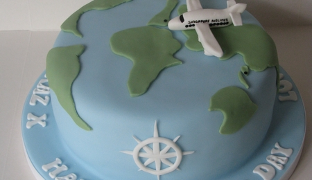 World traveller cake cakecentral world map travel gumiabroncs Gallery