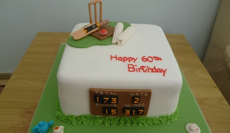 Sport Cake Decorating Photos