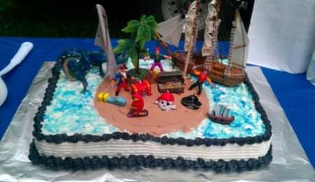 Cake Decorating Classes Grapevine Tx : Jake And The Neverland Pirates - CakeCentral.com
