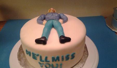 Terrific Muscle Man Cake Decorating Photos Personalised Birthday Cards Xaembasilily Jamesorg