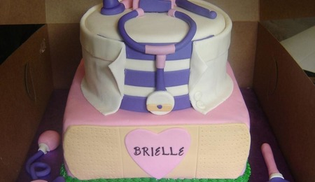 2 Tier 60Th Bling With Photos Birthday Cake CakeCentral Com