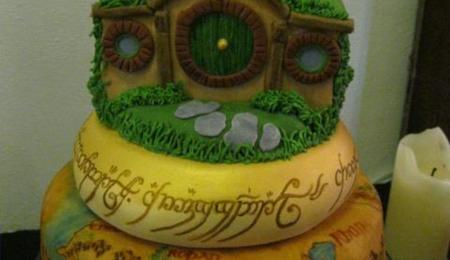 Wondrous Lord Of The Rings Cake Decorating Photos Birthday Cards Printable Giouspongecafe Filternl