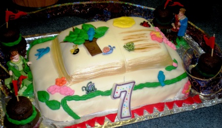 Rainbow Brite Cake Recipe