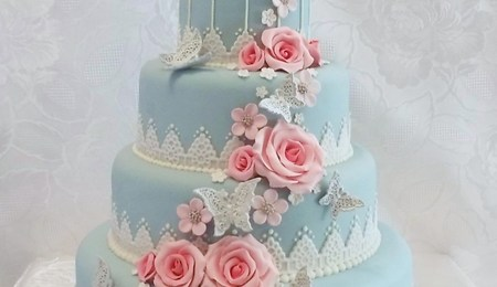 top tier wedding cake for christening this is the christening cake i made recently with 21075