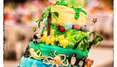 Noahs Ark Cake Decorating Photos