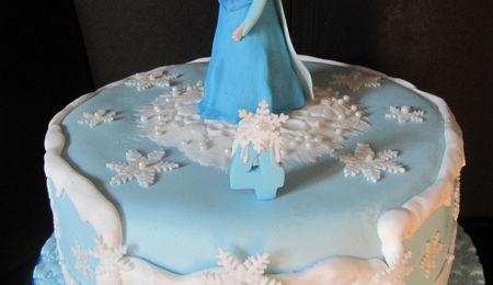 Elsa Birthday Cake Photos