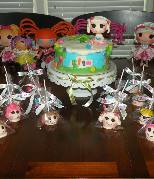 Lalaloopsy Cake And Cakepops Cake Is Buttercream And...