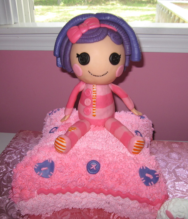 Lalaloopsy Pillow Featherbed/pillow Cake