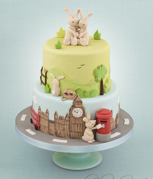 Rabbit Wedding Cake