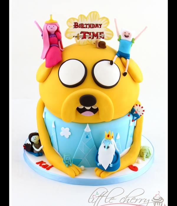 Superb Top Adventure Time Cakes Cakecentral Com Funny Birthday Cards Online Alyptdamsfinfo