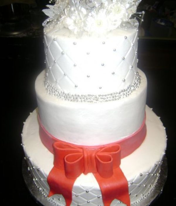 Red Fondant Bow