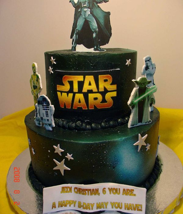 Brilliant Top Star Wars Cakes Cakecentral Com Birthday Cards Printable Riciscafe Filternl