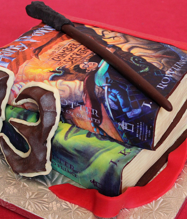 Harry Potter Book Cakes