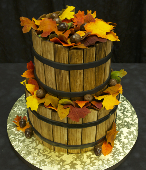 Autumn Basket Cake