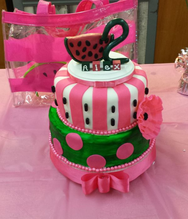 Watermelon Themed Birthday