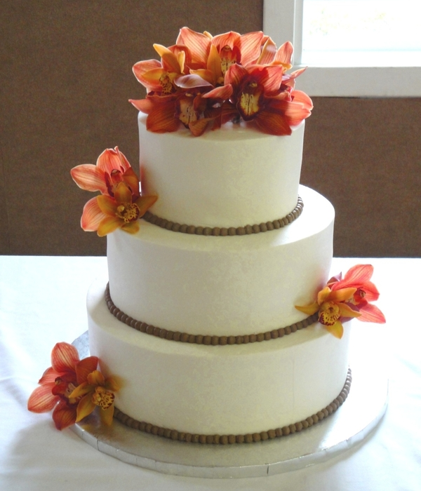 Fall Orchid Wedding