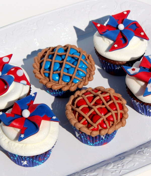 Patriotic Pinwheels And Pies